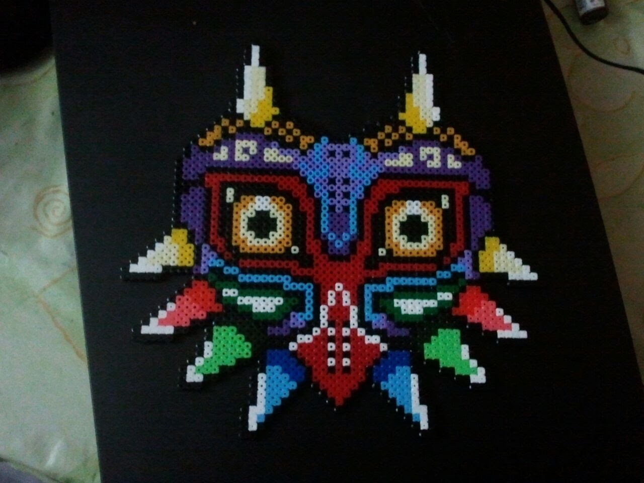 Majora's Mask Hama beads Midi