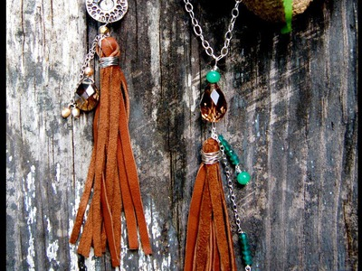 Make a Leather Tassel Necklace - DIY Style - Guidecentral