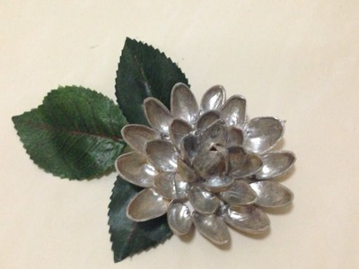 Make an Easy Pistachio Shell Flower - DIY Crafts - Guidecentral