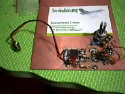 RC Engine Glow Heater Driver using LiPo battery 2 - 3 cell - DIY Project