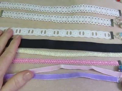 Ribbon Bookmarks with Bead Dangles