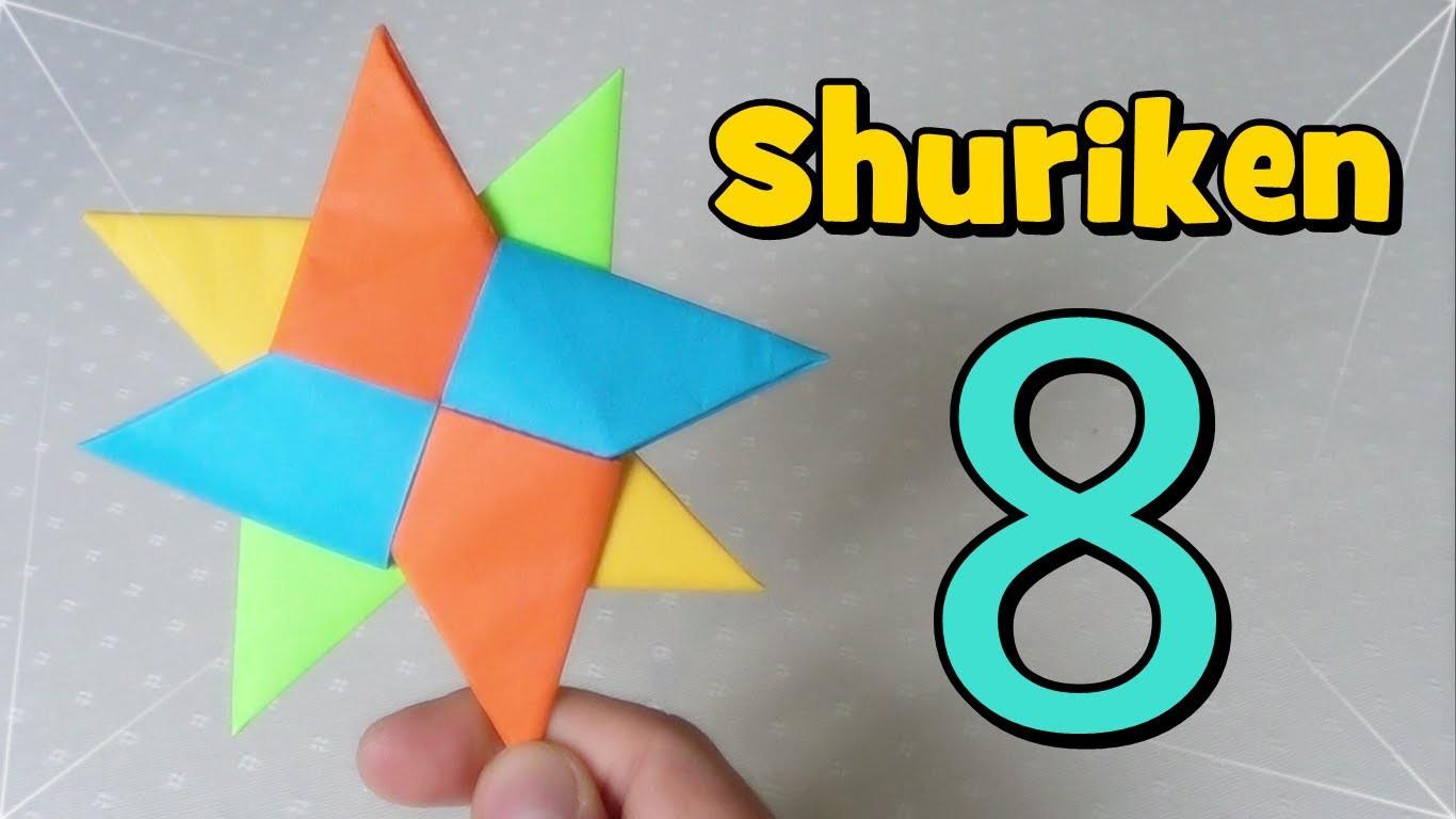 Shuriken Origami - Estrella Ninja de Papel