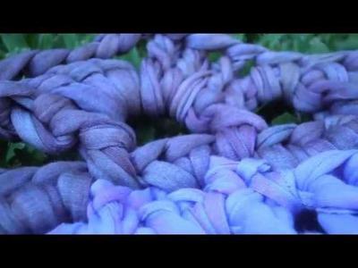 T&P Una Estrella Azul - carpet. alfombra crochet y totora (T-shirt)