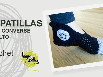 Tutorial Zapatillas Crochet o Ganchillo Adulto
