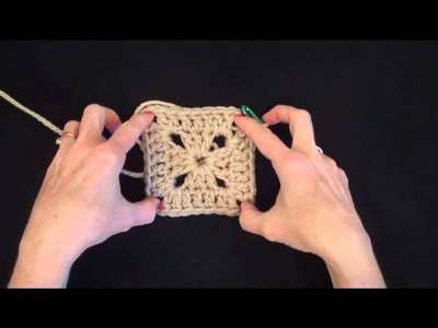 003 Learn How to Crochet: Basic Double Square