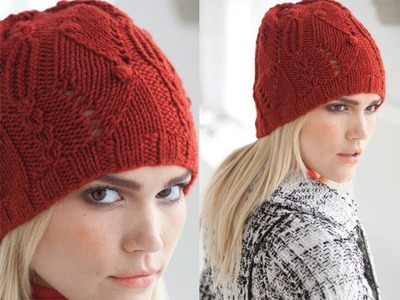 #31 Textured Hat, Vogue Knitting Fall 2011