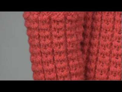 #6 Multi-Pattern Cardigan, Vogue Knitting Fall 2009