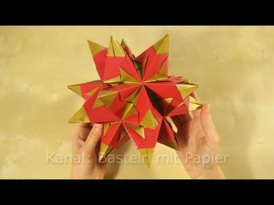 Bascetta Stern: Anleitung für Origami Stern