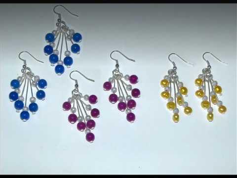 Beads Projects - Cascade Earrings