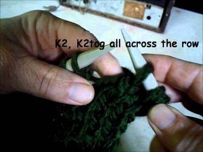 Bulky hat knitalong for hand knitters