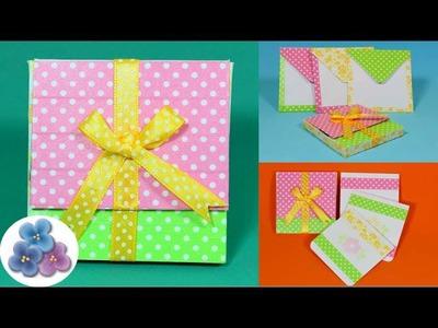 Como Hacer Regalos Originales Cajas *DIY Scrap Gifts* Manualidades para Regalar Pintura Facil