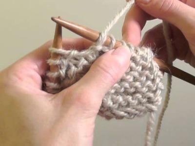 Cours de tricot 16 - Rectifier des erreurs, défaire des rangs