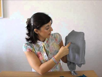 Curso de trico - Querido tricot: Pontos canelados (knit ribbing)
