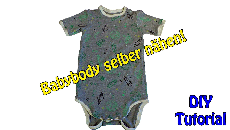 DIY | Babybody selber nähen | Nähen für Anfänger | Tutorial