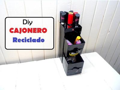 Diy cajonero reciclado recycled drawer