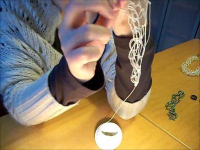 DIY: Collar de macramé y cadena.