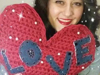 DIY | Cuore crochet | Tutorial | Ringraziamenti :D  un immenso cuore per tutte voi