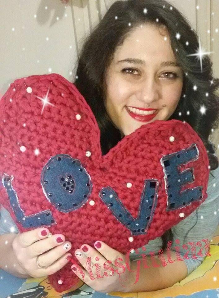 DIY   Cuore crochet   Tutorial   Ringraziamenti :D  un immenso cuore per tutte voi