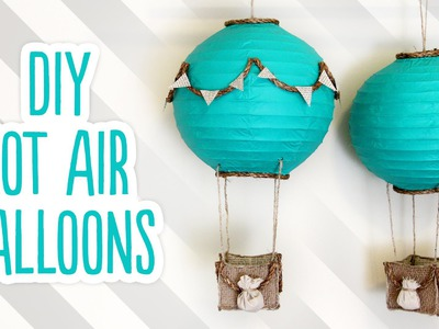 DIY Hot Air Balloon Decorations