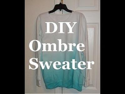 DIY: How to Make an Ombré Sweatshirt