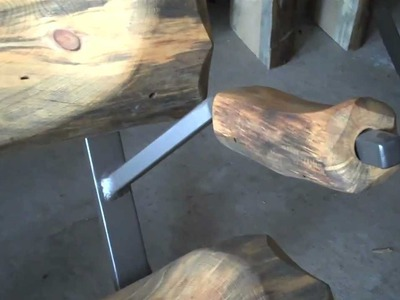 DIY Log Furniture  Arm Assembly by Mitchell Dillman