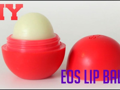 ❤Diy Natural EOS Lip balm- New and improved for the PERFECT SHAPE! |agent00beauty