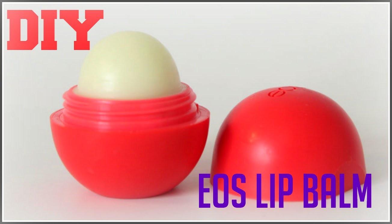 diy how to make eos lip balm