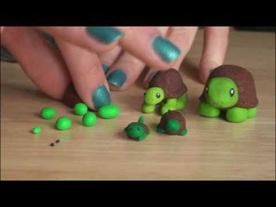 DIY: Polymer Clay Turtle