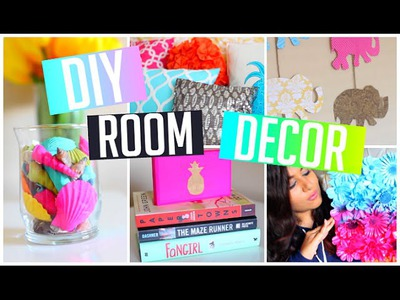 DIY Room Decorations: Pinterest Inspired! Easy, Cute & Cheap! 2015