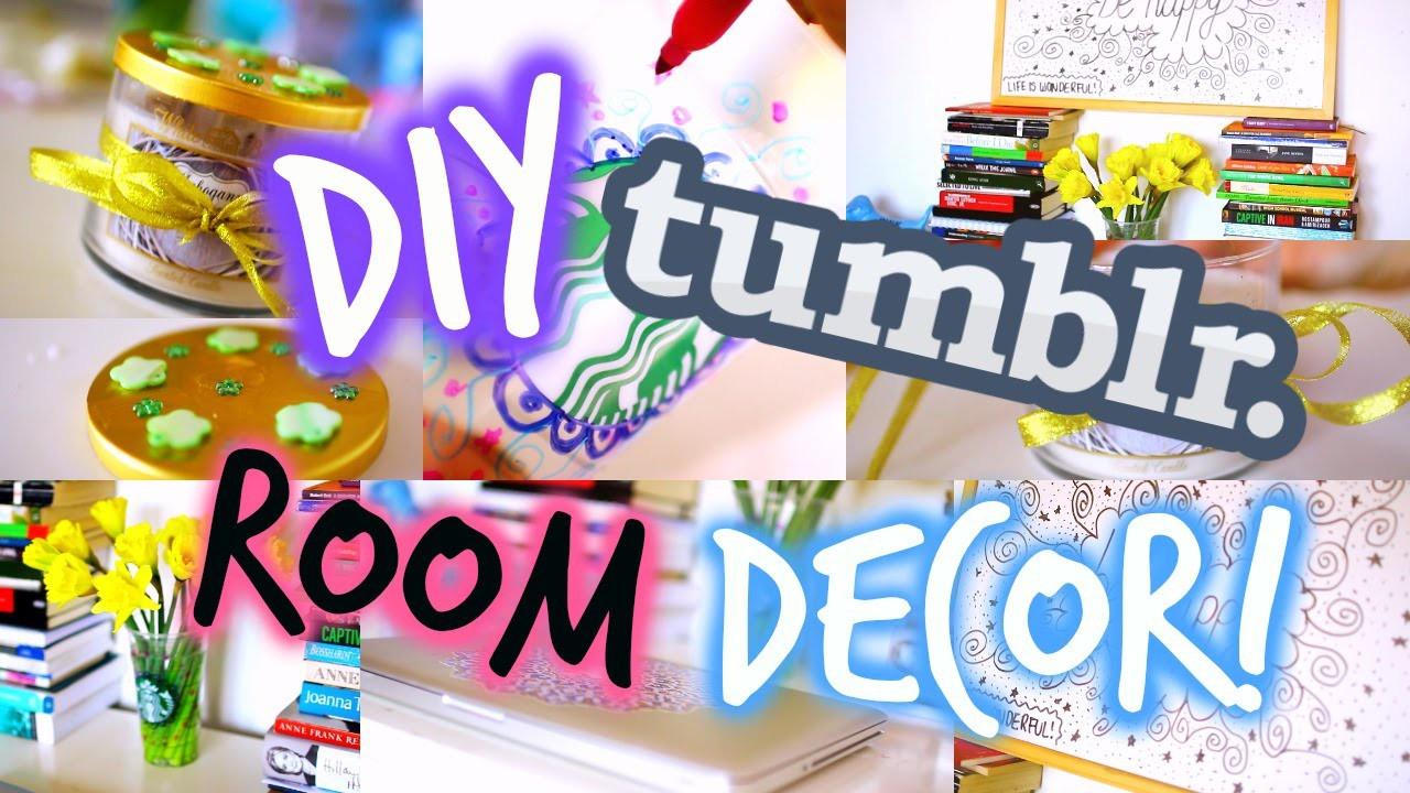 DIY Tumblr Inspired Room Decor!   Cute, Cheap & Easy!