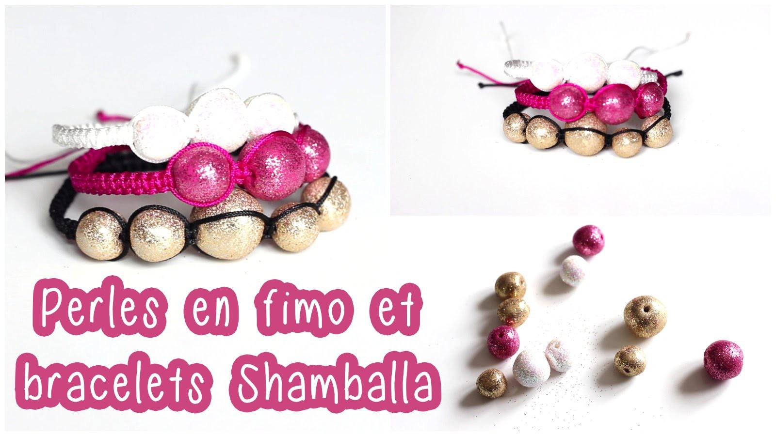 DIY # TUTO Perles en fimo et bracelets d'inspiration Shamballa - Polymer clay