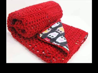 Easy crochet baby blanket free patterns