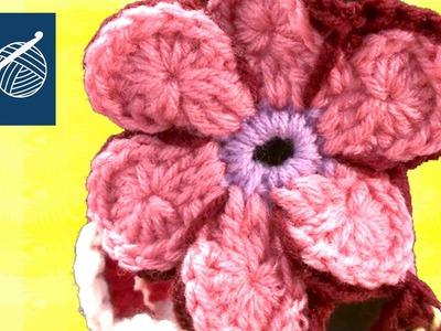 ECLIPTIC CROCHET FLOWER Left Hand Crochet Geek