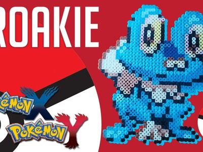 Froakie (Pokemon X and Y) - Perler Beads