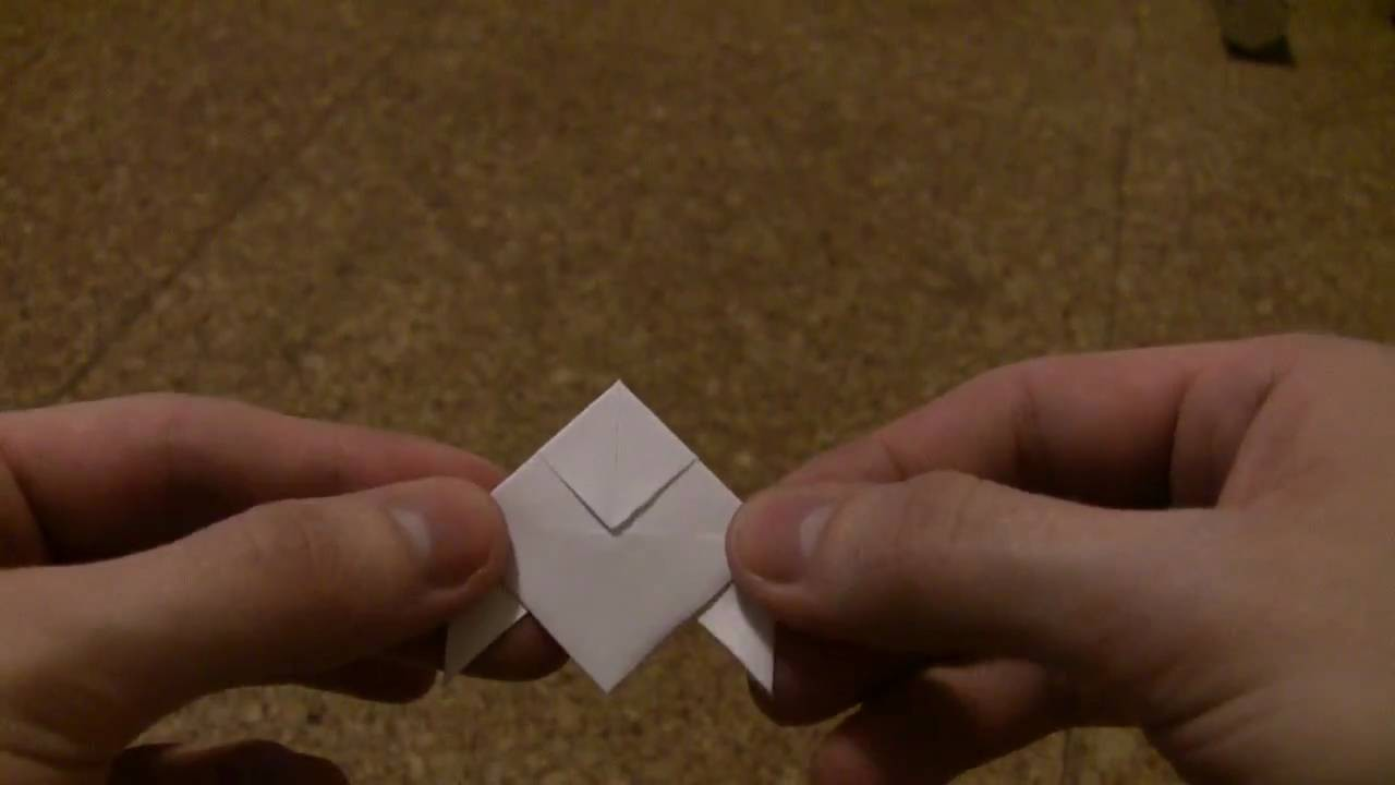 Heavy Rain Origami Bird