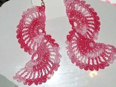 HOT  Handmade Crocheted Earrings