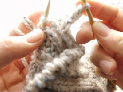 How to bind off rib knit