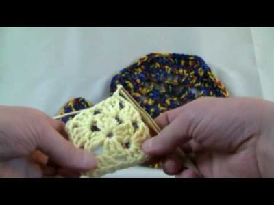 How To Crochet Octagon Granny Afghan - RH 3 0f 3