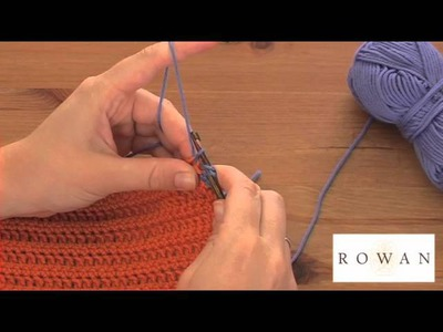 How to Crochet: trebles, with Rowan Yarns and Crafty Yarn
