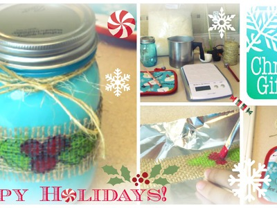 HOW TO: Easy DIY Candle Making For a Christmas Gift | Step By Step Tutorial