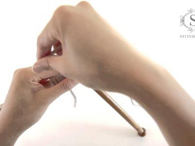 How to knit Purl Stitch - a Stitch & Story tutorial