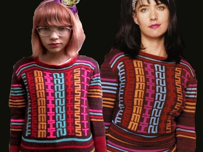 How to knit the FEMINIST Sweater