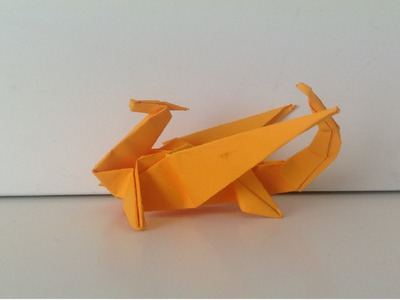 How to Make an Easy Origami Dragon