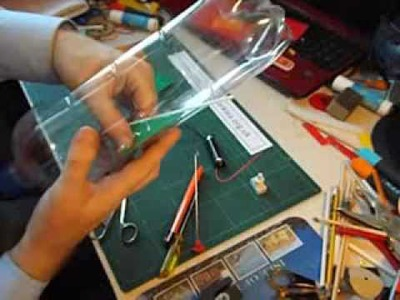 How to make an electric plastic bottle boat