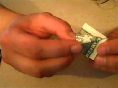How to Make an Origami (Moneygami) Crane with a One Dollar Bill