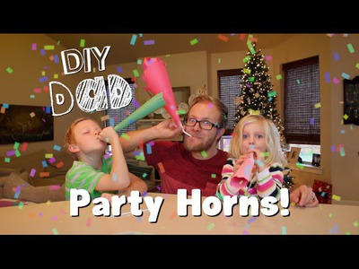 HOW TO MAKE NOISE MAKERS | DIY Dad: epoddle