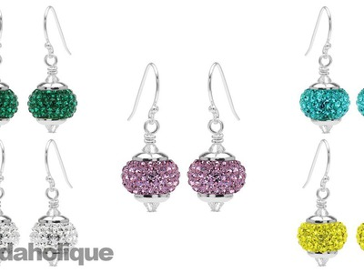 Instructions for Making the Pave Crystal Birthstone Earring Kit