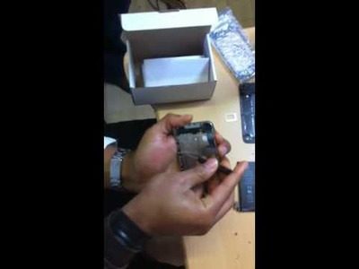 IPhone 4G Glass Digitizer Screen Replacement Repair Tutorial DIY