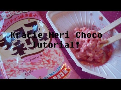Japan Kracie Neri Choco: Strawberry Flavor DIY Candy Happy Kit Tutorial! (Poppin Cookin)