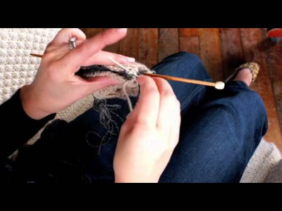 Knitting Tips from Toft Alpaca: Provisional Cast on & Grafting knitting